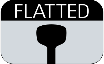 FLATTED